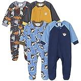 Gerber Baby Boys' 4-Pack Blanket Sleeper, Monkey Dino, 18 Months