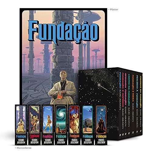 Box Fundação: Saga Completa