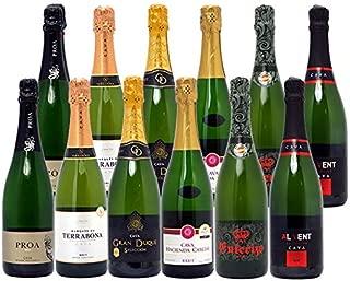 本格シャンパン製法だけの厳選泡セット (泡12本セット)