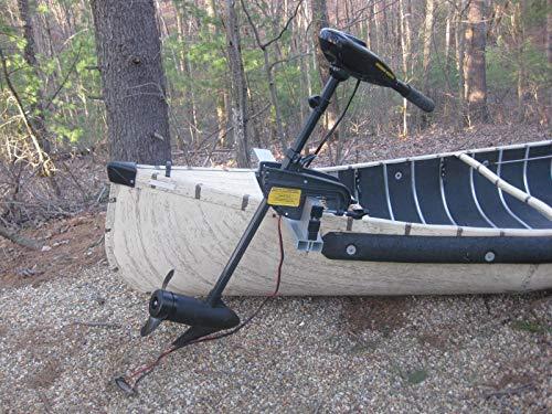 Sailboats To Go Canoe Motor Mount - Extra Long - All Aluminum