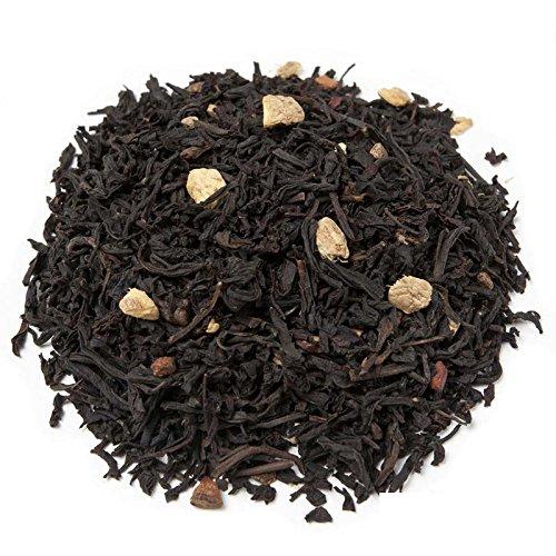 Aromas de Té - Té Negro Pakistan con Clavo Canela Cardámomo Vainilla Jengibre Aromas Naturales Digestivo Anti-inflamatorio sabor picante y fresco, 50 GR