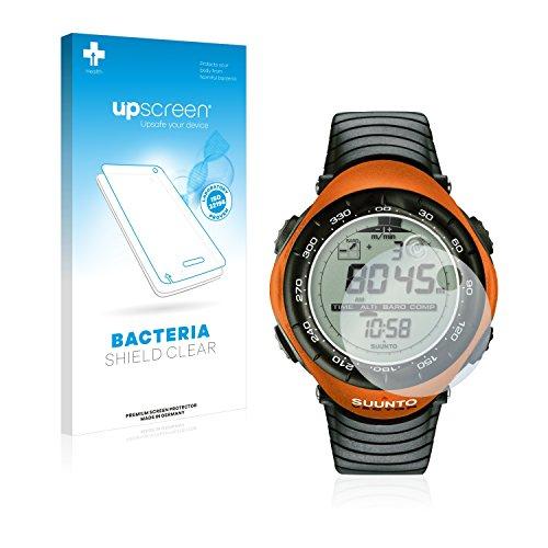 upscreen Antibakterielle Schutzfolie kompatibel mit Suunto Vector Orange klare Bildschirmschutz-Folie