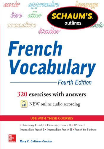 Schaum's Outline of French Vocabulary (Schaum's Outlines) (French Edition)