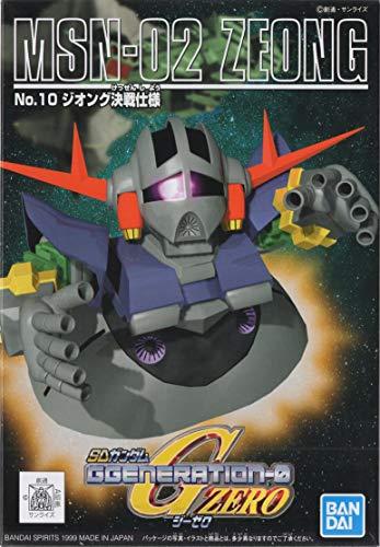 SDガンダム G-GENERATION No.10 ジオング 決戦仕様 プラモデル