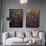 Lesign Sternbild Sternzeichen Sterne Geometrische Abstrakte