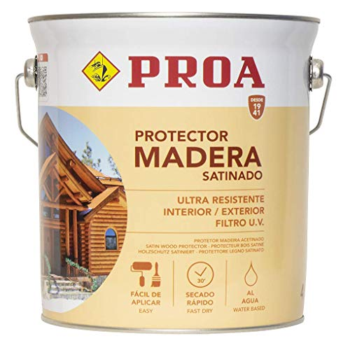 Lasur protector para madera al agua exterior