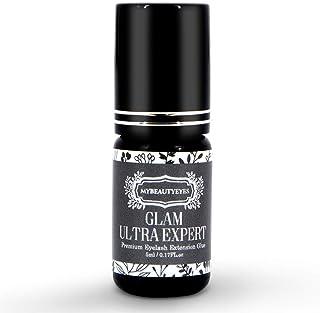 Extra Strong Individual Eyelash Extension Glue 5 ml/Semi Permanent Extension Black..