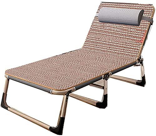 SACKDERTY Tumbona multiposición, silla de siesta de oficina de gravedad cero, cama plegable, silla de playa, sofá reclinable plegable ajustable