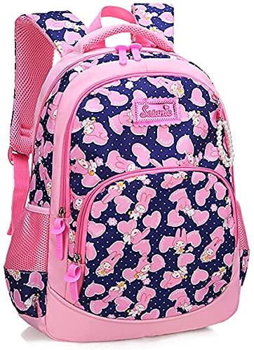 X&Y Mochila de la Escuela Primaria Linda de Las Chicas Outdoor Daypack Casual Bookbag, Mochila Impermeable Moda Casual Daypack Mujer Bookbag, Azul, L (Color : Sky Blue, Size : S)