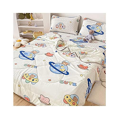 FACAI Materasso di Raffreddamento in Seta di Ghiaccio Materassino per Dormire con Aria Condizionata per Sudorazioni Notturne,Mattress:180×200cm