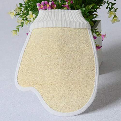 Cherry Cronin wohltuende Luffaschwamm Badebürste Körperpeeling Pads Spa Massage Handschuhe Dusche Wt