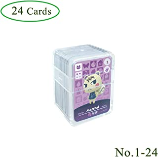 Tarjetas de juego NFC Tag para Animal Crossing, 24 piezas (N
