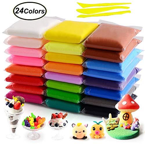 Modellierung Lehm DIY Kreatives... 36 Farben No-toxic Ultra Light Magic Clay