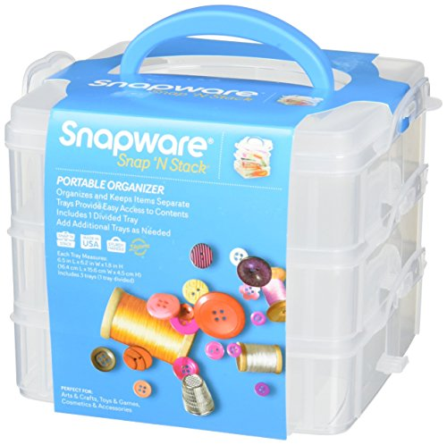 Snapware Snap 'N Stack 3-Layer Home Storage Container (6.5 in x 6.2 in x 1.6 in)