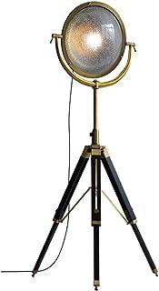 Lampadaire Industriel américain Loft Miroir créatif à Trois Pattes Lampe sur Pied de Salon