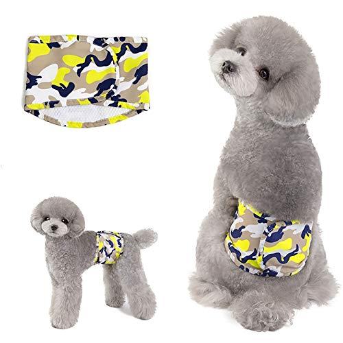 Nai-storage Physiologische Windeln für Hunde Damenbinden, Bequeme und atmungsaktive, wiederverwendbare auslaufsichere Windeln für männliche Kleine mittelgroße Hunde (Color : Style-B, Size : X-Large)