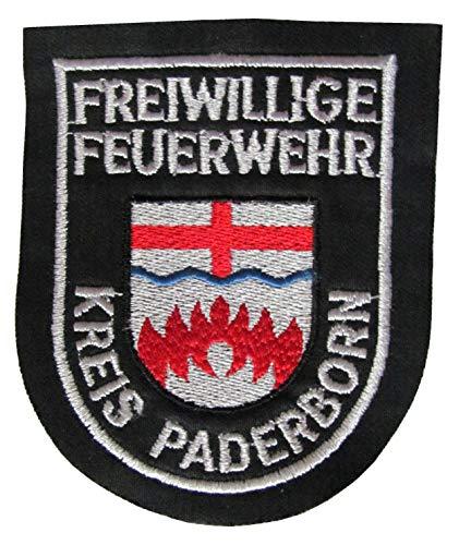 Freiwillige Feuerwehr - Kreis Paderborn - Ärmelabzeichen - Abzeichen - Aufnäher - Patch - Motiv 2