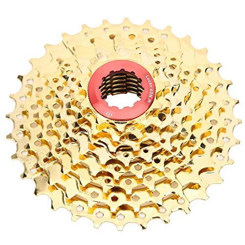Alomejor Mountainbike Freilauf Kassette 8-Gang 32T Stahl Fahrrad Freilauf Hohl Design Freilauf für Fahrrad Rennrad