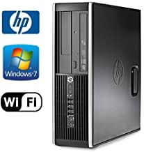 Hp Compaq 8200 Elite SFF Wifi Pc Bundle - Intel Core I5 2500 Quad @ 3.30ghz - 8gb RAM - 1tb Hard Drive - Windows 7 Professional 64-bit - Dvd-rw