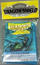 Dragon Shield Mini Sleeves, Turquoise Board Games