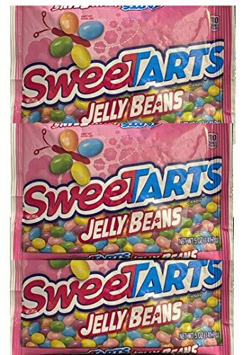 Sweetarts JELLY BEANS Sweet Tart Three 5.0 oz packs