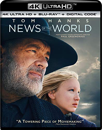 News of the World 4K Ultra HD + Blu-ray + Digital - 4K UHD