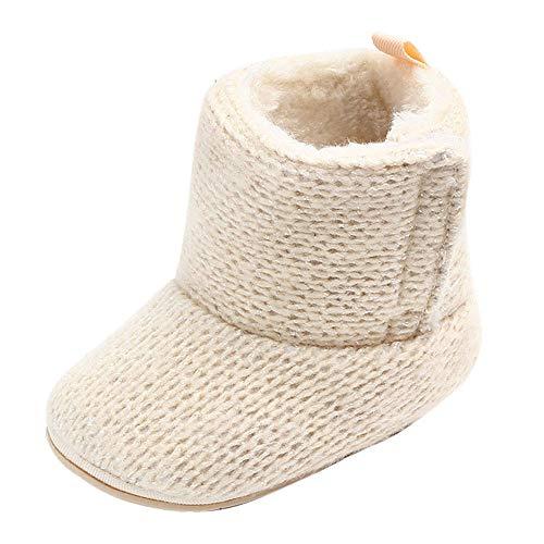 catmoew Schneeschuhe Schuhe Kinder Winterstiefel Weiche Baumwollschuhe Klettverschluss Baby Stiefel Neugeborenes Süße Babys Warme Stiefel Erste Wanderer Kleinkind Schuhe Booties
