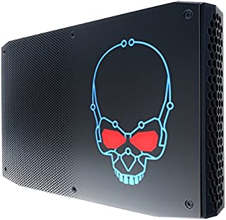 Intel BOXNUC8I7HNK2 准系统 迷你电脑 (BGA 2270, 3.1GHz, i7-8705G, 14 nm) 黑色