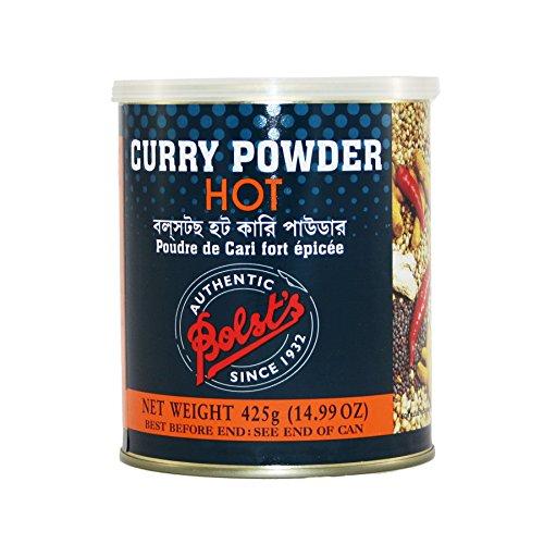 Bolst's Curry Powder Hot 14.99 oz (425g) by Bolst's