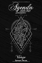 Agenda Scolaire 2020 2021 Semainier: Agenda Scolaire Thème Horoscope signe de la Vierge..