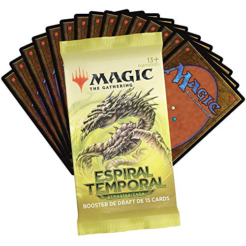 Magic The Gathering: Espiral Temporal Draft Booster | 15 Cards | Produto em Português