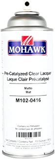 mohawk pre catalyzed clear lacquer matte