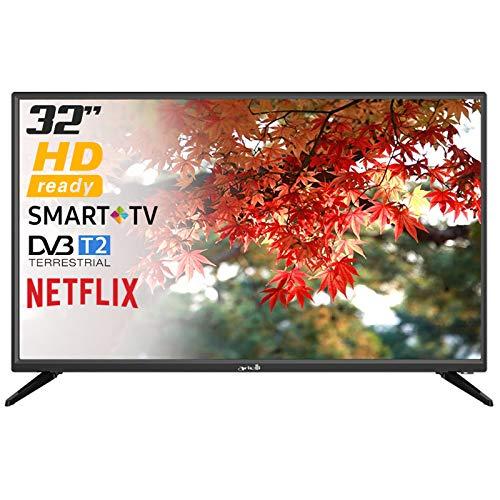 Smart TV Arielli LED-3228NF LED 32' HD Ready Wi-Fi Netflix Ready DVB-T2/C/S2