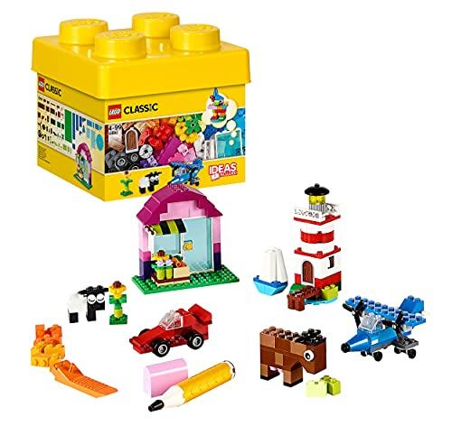 LEGO Classic MattonciniCreativi, Set di Costruzioni Classico Colorato con Una Scatola per Riporrei Mattoncini(221Pezzi), 10692