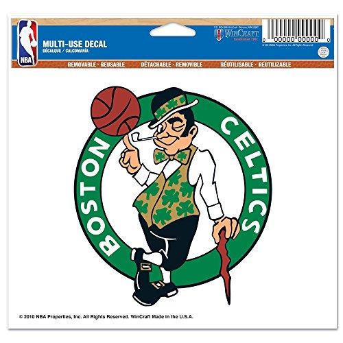 NBA Boston Celtics 22056010 Multi-Use Colored Decal, 5' x 6'