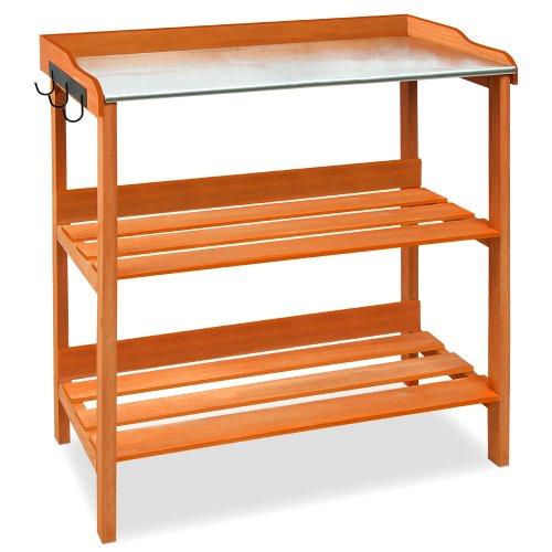 Deuba Pflanztisch Holz Gartentisch