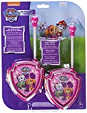 PAW PATROL - Set de 2 walkie talkies, Color Morado (Cefatoys 00470)