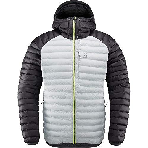 Haglöfs Essens Mimic Hood Jacket Homme, Magnétique/True Black, s