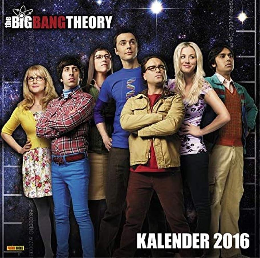 厳密に雪保存するThe Big Bang Theory Wandkalender 2016