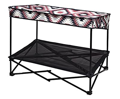 Quik Shade Outdoor Instant Pet Shade with Elevated Mesh Bed - Medium