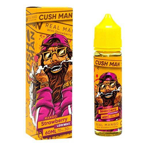 Nasty Juice Premium e-Liquid Cush Man - Mango Strawberry, Shake-and-Vape für Ihre e-Zigarette, 0.0 mg Nikotin, 50 ml