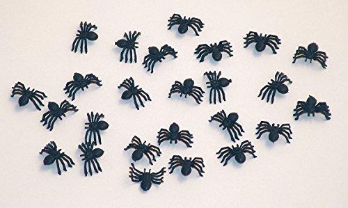 Folat 07617P1 Spinnen Tischdekoration, schwarz