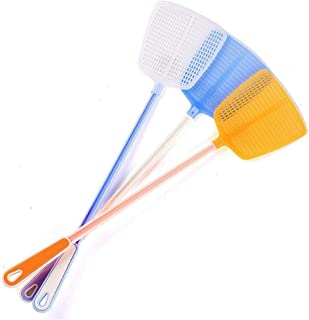 3Pcs Durable Hollow Hollow Household Long Handle Plastic Fly Trap Mosquito Fly Killer Manually Insert Board Pest Control R...