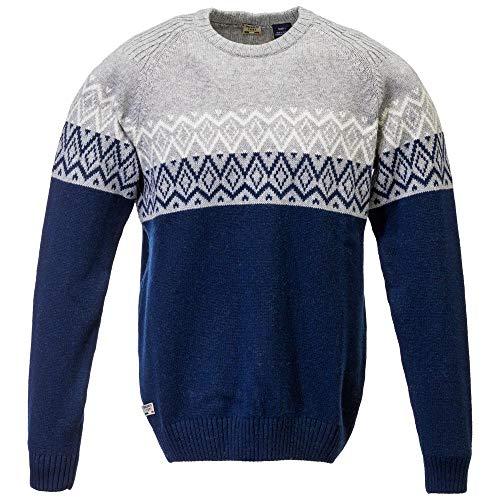 Dolomite Herren Chaqueta Knit Sessanta M Weste, blau/hellgrau Melange, N