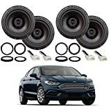 Compatible with Ford Fusion 2013-2019 Factory Speaker Upgrade Package Harmony...