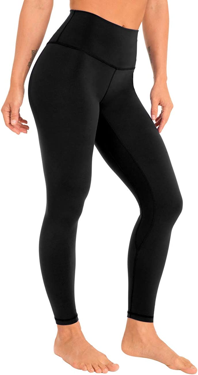 coastal It is very popular rose Women's Yoga Pants Comfy Brushed Wa Credence Length 7 8 High