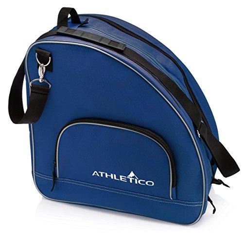 Athletico Schlittschuhtasche, hochwertige Tasche zum Tragen von Schlittschuhen, Rollschuhen, Inlineskates, für Kinder und Erwachsene, ., blau