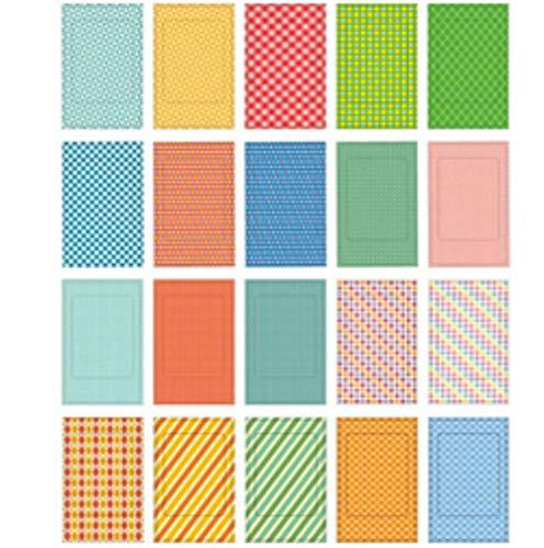 20 Stks/partij DIY Scrapbook Memo Foto's Frame Stickers Voor Instax Mini Film Fotoalbums Home Decor Papier Stickers