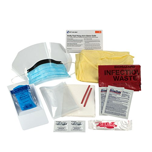 First Aid Only Bloodborne Pathogen Spill Clean Up Kit, Single Use