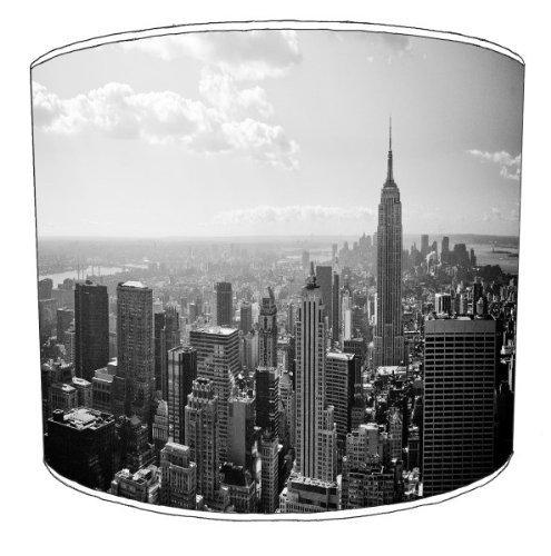 Premier Lighting Ltd 12 inch New York Skyline Abat-Jour pour Un plafonnier